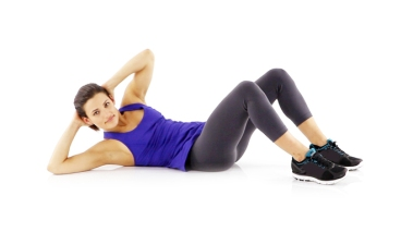Fitness Drive Side Crunches