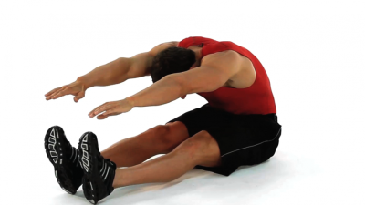 Seated Calve Stretch